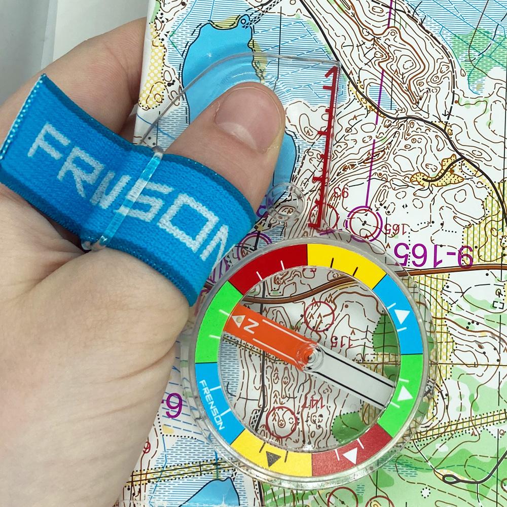 FRENSON NordFORCE COLORSorienteering thumb compass