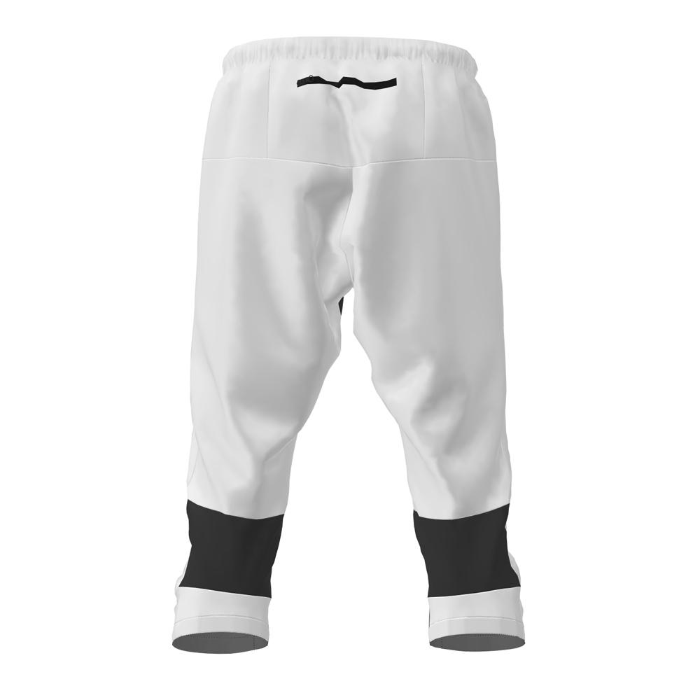 FRENSON MOTION 3/4 orienteering nylon pants, White