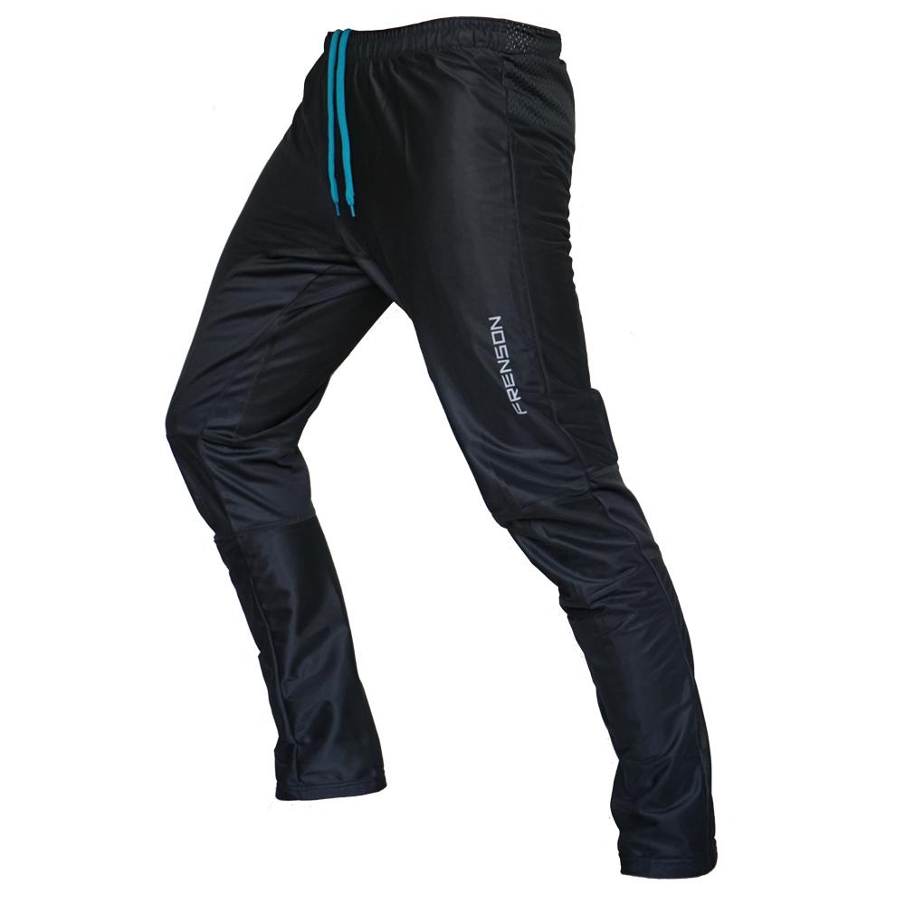 FRENSON MOTION Long orienteering nylon pants, Black