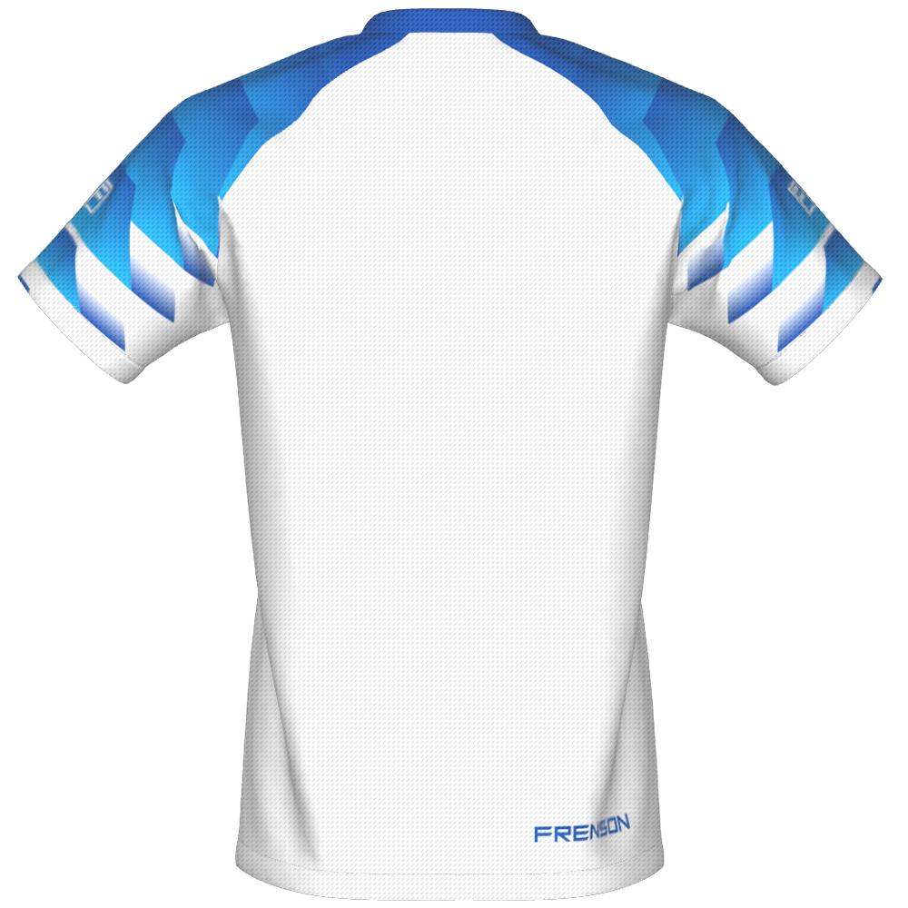FRENSON O-DIVISION mesh orienteering shirt, White