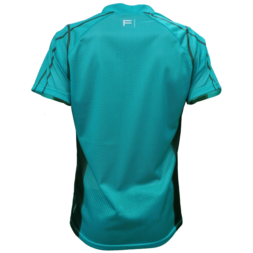 FRENSON O-DIVISION mesh orienteering shirt, Blue Green