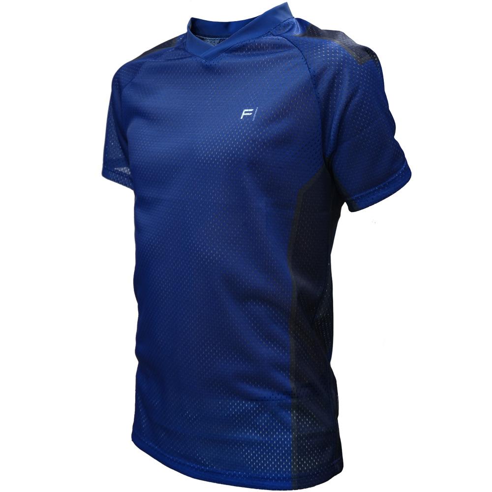 FRENSON O-DIVISION mesh orienteering shirt, Navy Blue