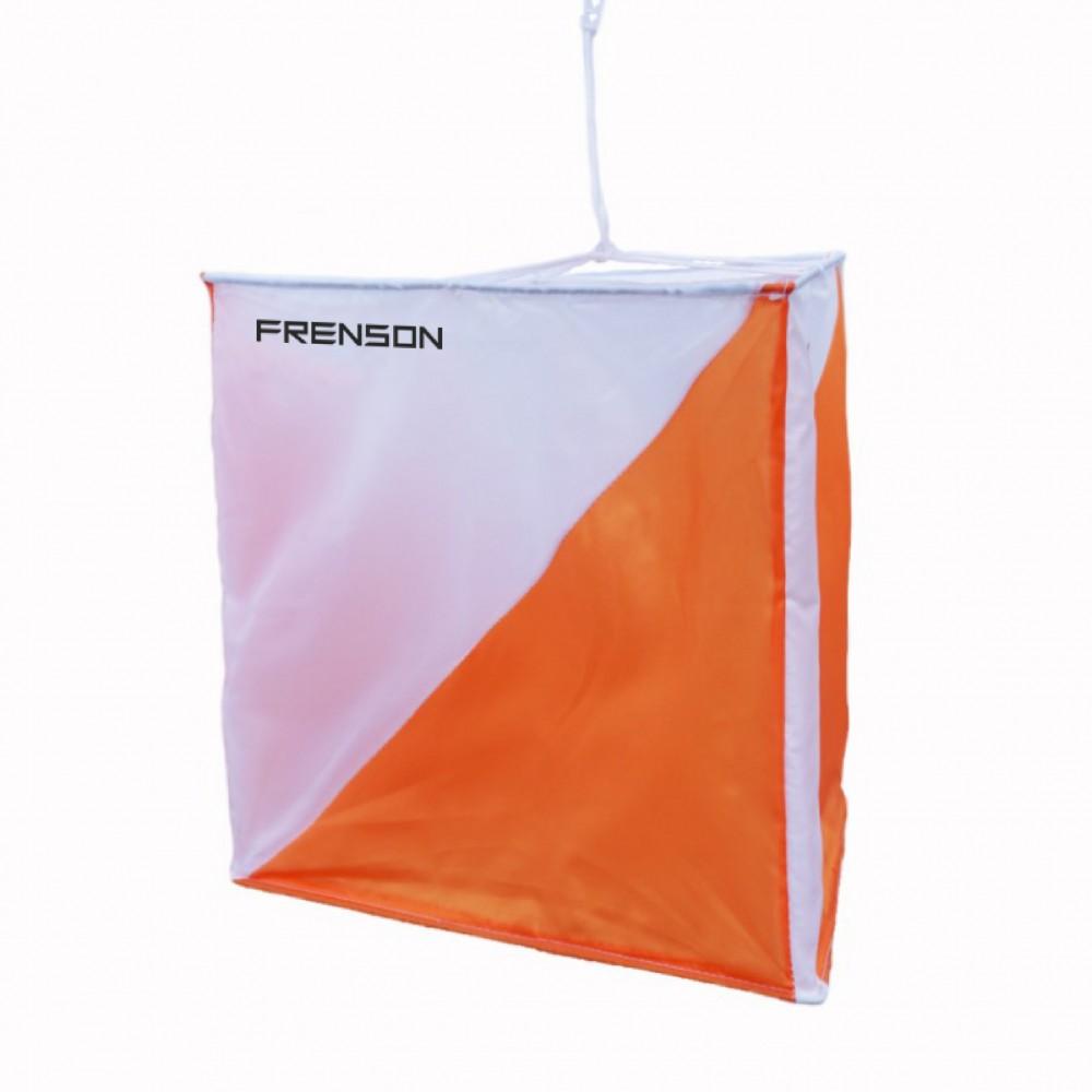 Orienteering Control flag with FRENSON® logo, 30 x 30cm