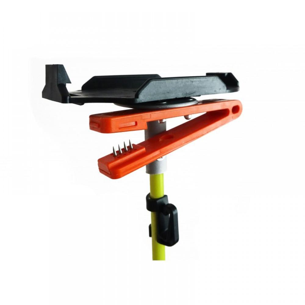 FRENSON® orienteering fiberglass post with SPORTident plate & needle punch