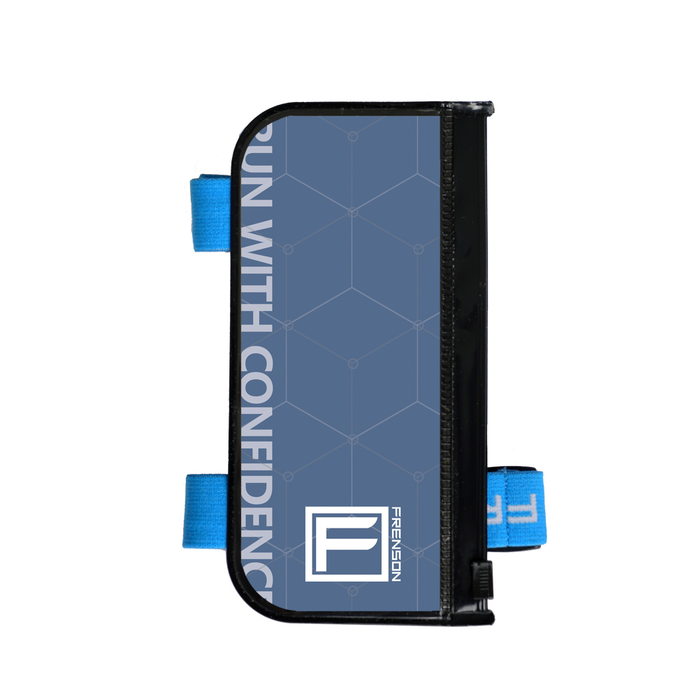 F-SERIES Blue description holder, small