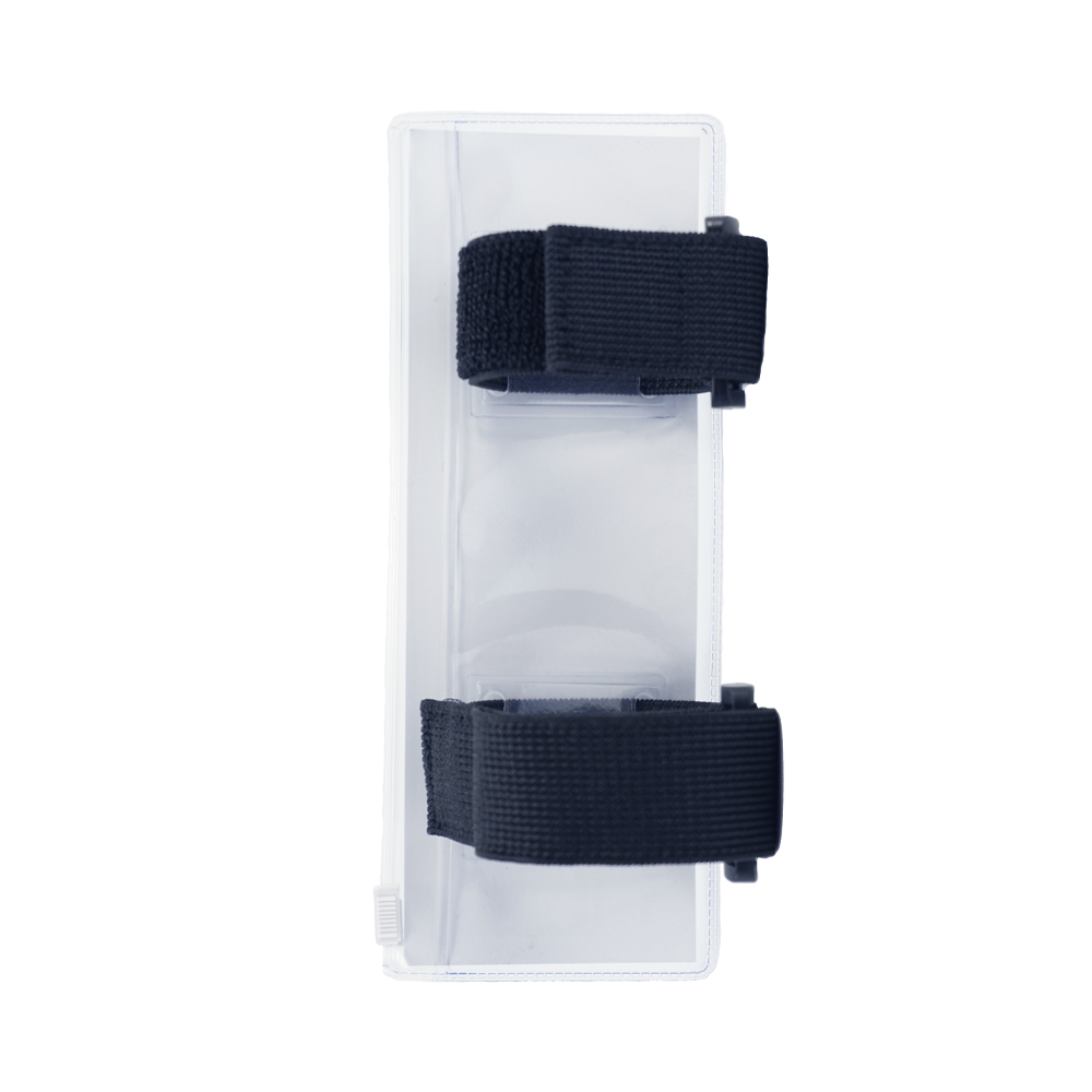 F-SERIES Blue description holder, large