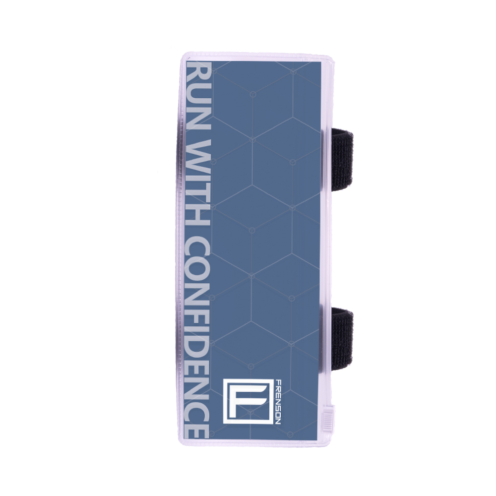 F-SERIES Blue description holder, large