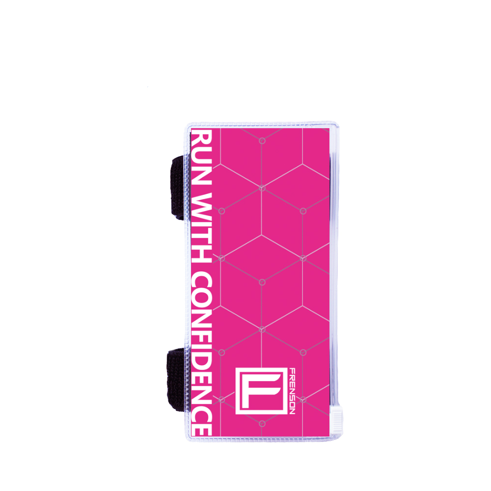 F-SERIES Magenta description holder, small